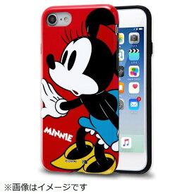イングレム Ingrem iPhone SE(第2世代)4.7インチ/ iPhone8/7 TPUソフトケース カラップ ミニー IN-DP7SCP1/MN