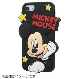 イングレム Ingrem iPhone SE(第2世代)4.7インチ/ iPhone8/7/6s/6 シリコンダイカット ミッキー IN-DP7S6DC1/MK