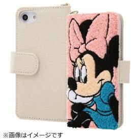 イングレム Ingrem iPhone SE(第2世代)4.7インチ/ iPhone8/7/6s/6(4.7)サガラ刺繍 手帳型ケース IN-DP7S6SGR1/MN
