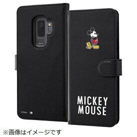 イングレム Ingrem Galaxy S9+ ディズニーキャラクター 手帳型ケース ミッキーマウス025 IN-DGS9PMLC2/MK025
