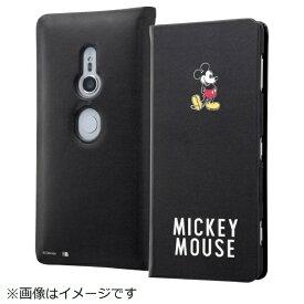 イングレム Ingrem Xperia XZ2 ディズニーキャラクター 手帳型ケース スリム ミッキーマウス25 IN-RDXZ2MLC3/MK025