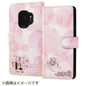 イングレム Ingrem Galaxy S9 ディズニーキャラクター 手帳型ケース ミニーマウス16 IN-DGS9MLC2/MN016