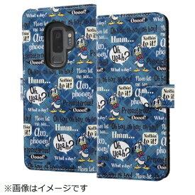 イングレム Ingrem Galaxy S9+ ディズニーキャラクター 手帳型ケース ドナルド001 IN-DGS9PMLC2/DD001