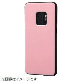 イングレム Ingrem Galaxy S9 TPUソフトケース カラップ ピンク IN-GS9CP1/P