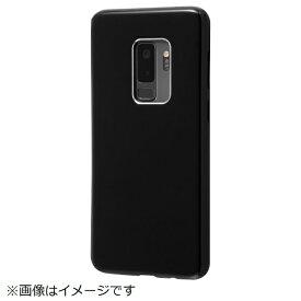 イングレム Ingrem Galaxy S9+ TPUソフトケース カラップ ブラック IN-GS9PCP1/B