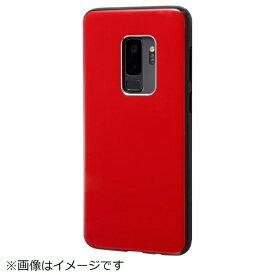 イングレム Ingrem Galaxy S9+ TPUソフトケース カラップ レッド IN-GS9PCP1/R