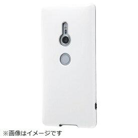 イングレム Ingrem Xperia XZ2 TPUソフトケース カラップ ホワイト IN-RXZ2CP1/W