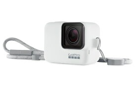 GoPro ゴープロ スリーブ + ランヤード ホワイト ACSST-002[ACSST002 ゴープロ アクセサリー]