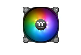 THERMALTAKE サーマルテイク Pure Plus 12 RGB Radiator Fan TT Premium Edition -3Pack- CL-F063-PL12SW-A[CLF063PL12SWA]