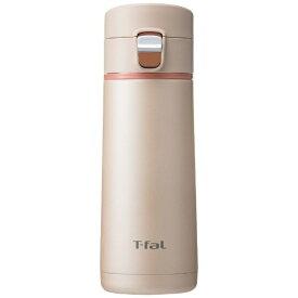 T-fal ティファール ステンレスマグボトル 350ml Clean Mug(クリーンマグ)ワンプッシュタイプ シャンパン K23422[K23422]