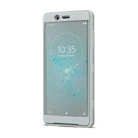 ソニー SONY 【ソニー純正】Xperia XZ2 Compact Style Cover Touch手帳型ケース SCTH50JP/H グレー