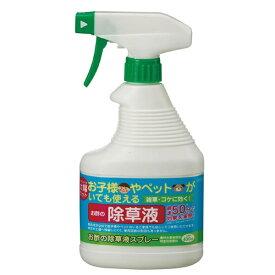 トヨチュー toyochu お酢の除草液スプレー400ml