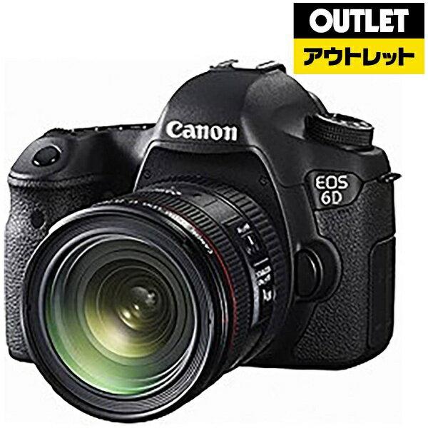 キヤノン CANON 【アウトレット品】デジタル一眼レフカメラ EOS 6D(WG)[EF24-70L IS USM レンズキット]【外装不良品】EOS6D2470ISLK【kk9n0d46p】