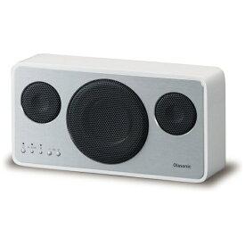 オラソニック Olasonic IA-BT7 W ブルートゥース スピーカー シルクホワイト [ハイレゾ対応 /Bluetooth対応][IABT7W]