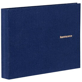 セキセイ SEKISEI ハーパーハウス レミニッセンス ミニポケットアルバム 高透明 L判40枚収容 XP-5540 ネイビーブルー