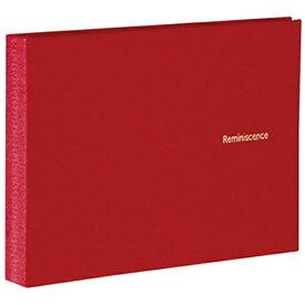 セキセイ SEKISEI ハーパーハウス レミニッセンス ミニポケットアルバム 高透明 L判40枚収容 XP-5540 レッド