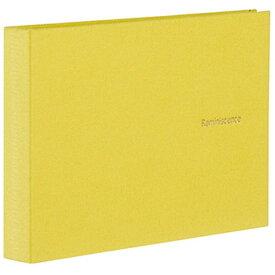 セキセイ SEKISEI ハーパーハウス レミニッセンス ミニポケットアルバム 高透明 L判40枚収容 XP-5540 ライムグリーン