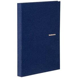セキセイ SEKISEI ハーパーハウス レミニッセンス ミニポケットアルバム 高透明 L判80枚収容 XP-5580 ネイビーブルー