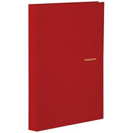 セキセイ SEKISEI ハーパーハウス レミニッセンス ミニポケットアルバム 高透明 L判80枚収容 XP-5580 レッド