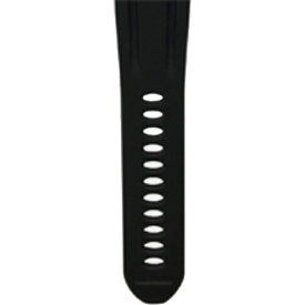 MASA ゴルフナビゲーション ザ・ゴルフウォッチプレミアムII交換用シリコンベルト(ブラック) GABBK