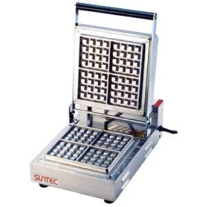 サンテック SUNTECH SBW-1004/4 ベルギーワッフルメーカー