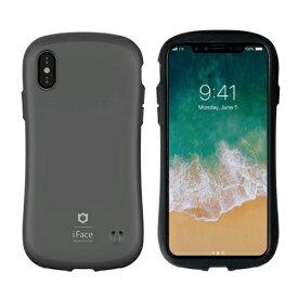 HAMEE ハミィ iPhoneXS/X iFace First Class Matteケース 41-893418 グレー