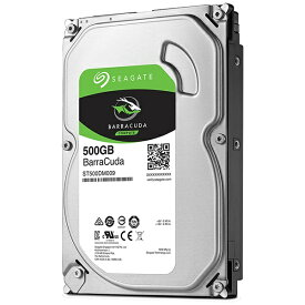 SEAGATE シーゲート ST500DM009 内蔵HDD BarraCuda [3.5インチ /500GB]【バルク品】 [ST500DM009]