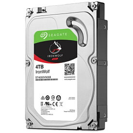 SEAGATE シーゲート ST4000VN008 内蔵HDD IronWolf [3.5インチ /4TB]【バルク品】 [ST4000VN008]