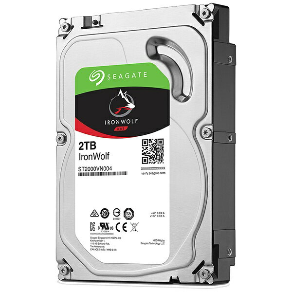 SEAGATE シーゲート ST2000VN004 内蔵HDD IronWolf [3.5インチ /2TB][ST2000VN004]