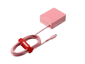BUFFALO バッファロー [micro USB]ケーブル一体型AC充電器 2.4A ケーブル ピンク BSMPA2418BC1PK [1ポート]