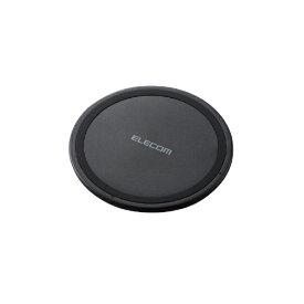 エレコム ELECOM ワイヤレス充電器[Qi対応] 5W 薄型 卓上 W-QA03XBK ブラック [USB給電対応 /ワイヤレスのみ][WQA03XBK]