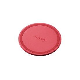 エレコム ELECOM ワイヤレス充電器[Qi対応] 5W 薄型 卓上 W-QA03XPN ピンク [USB給電対応 /ワイヤレスのみ][WQA03XPN]
