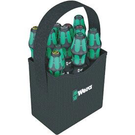 WERA社 Wera 2GO ドライバーセット 持ち手付バッグ入り 11本
