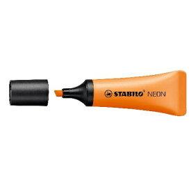 STABILO スタビロ [蛍光ペン]NEON(ネオン) 72-54 オレンジ