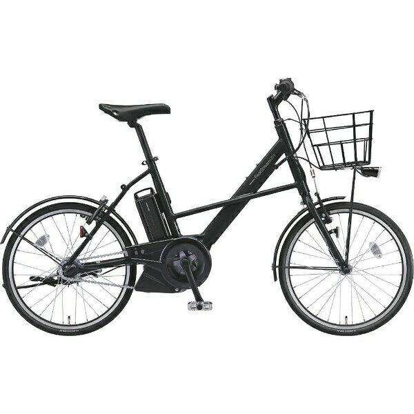 【送料無料】 ブリヂストン 20型 電動アシスト自転車 リアルストリームミニ(T.クロツヤケシ/内装3段変速) RS2C38【2018年モデル】【組立商品につき返品不可】 【代金引換配送不可】