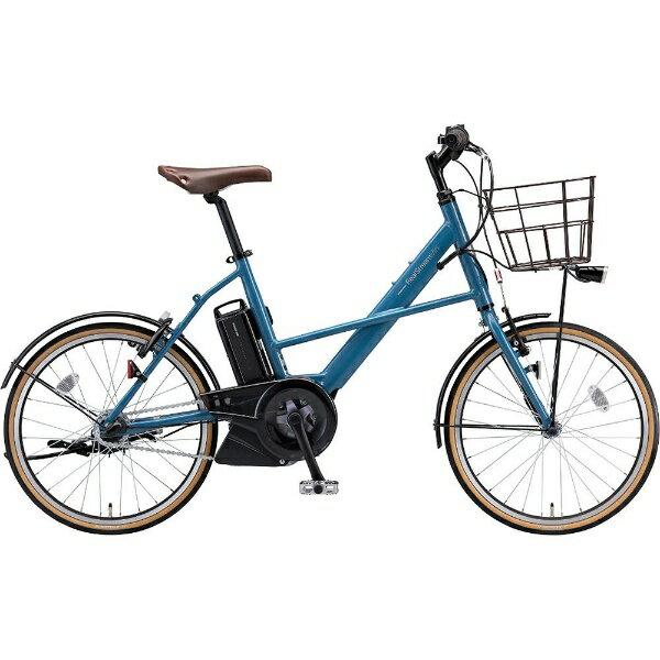 【送料無料】 ブリヂストン 20型 電動アシスト自転車 リアルストリームミニ(E.ストーンブルー/内装3段変速) RS2C38【2018年モデル】【組立商品につき返品不可】 【代金引換配送不可】