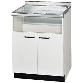 リンナイ Rinnai ビルトインコンロ専用キャビット(後板固定タイプ) UKC-665-W ホワイト扉