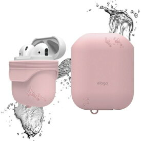 ELAGO elago(エラゴ) AirPods WaterProof Case(ケース) for AirPods EL_APDCSSCWC_PK Lovely Pink[airpods ケース カバー]
