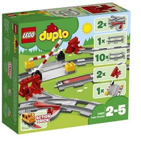 レゴジャパン LEGO 10882 デュプロ あそびが広がる!踏切レールセット[レゴブロック]