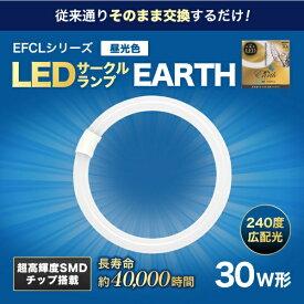 エコデバイス ECO DEVICE EFCL30LED-ES/28N 丸形LEDランプ Earth(アース) [昼光色]