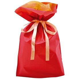 ササガワ SASAGAWA [ラッピング]巾着袋 レッド 中 5P 50-4459