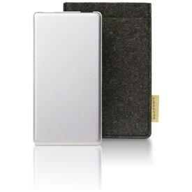 TAGlabel by amadana タグレーベル バイ アマダナ 【ビックカメラグループオリジナル】モバイルバッテリー mobile battery AT-MBA100P(SV) シルバー [10000mAh /microUSB /充電タイプ]