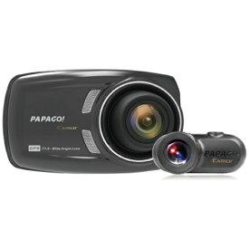 PAPAGO パパゴ ドライブレコーダー GSS36GS132G [一体型 /Full HD(200万画素) /前後カメラ対応][GSS36GS132G]