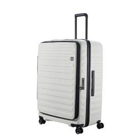 LOJEL ロジェール スーツケース 120L(130L) CUBO ホワイト N-Cubo-LL [TSAロック搭載]