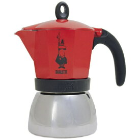 ビアレッティ BIALETTI 4923 コーヒーメーカー MOKA INDUCTION(モカインダクション) レッド[4923]