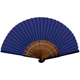 新日本カレンダー SHINNIPPON CALENDER 扇子紫紺