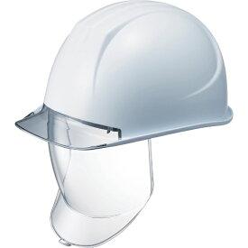 谷沢製作所 TANIZAWA SEISAKUSHO タニザワ 特大型ヘルメット 大型シールド面付 溝付 透明ひさし付