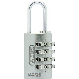アバス ABUS ABUS ナンバー可変式4段ダイヤル南京錠 145−4d 20 SI