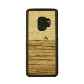ROA ロア Galaxy S9 天然木ケース Terra I12501S9 Terra