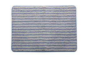 イケヒコ IKEHIKO バスマット プラチナ ナリ(35×50cm/ブルー)